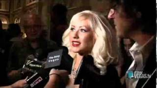 Christina Aguilera Raw Vegas Red Carpet TAO & Stephen Webster 2008