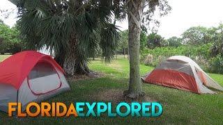 A Beginner's Experience Overnight Camping at Markham Park - Sunrise, FL