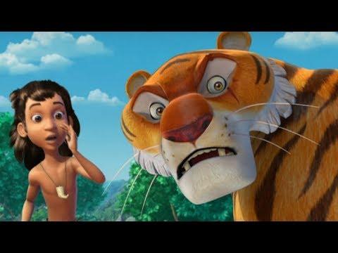 Маугли -Книга Джунглей -  Все серии сразу - сборник серий 6-10 –развивающий мультфильм для детей