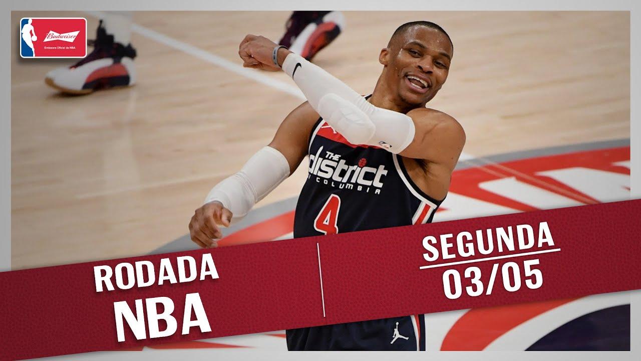 RODADA NBA 03/05 - NOITE HISTÓRICA DE WESTBROOK, CURRY SENDO DECISIVO, TOP 10 E MAIS!