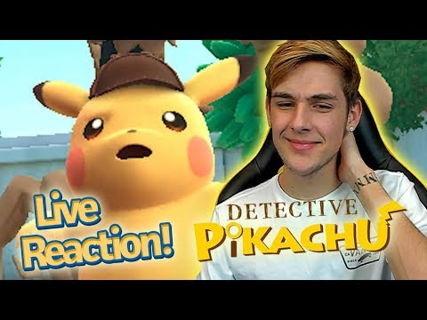 Download Youtube: Detective Pikachu English Trailer Live Reaction! *New 3ds Pokemon Game*