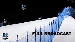 The Real Cost Men's Snowboard Big Air: FULL BROADCAST | X Games Aspen 2020