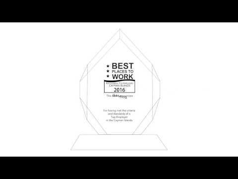 Best Place to Work Awards 2016~ Cayman Islands
