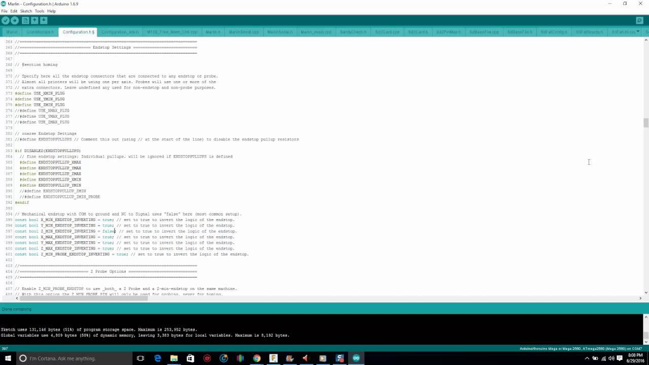 Bltouch Part 4 Configure Marlin Youtube Reprap Ramps 14 Wiring Nwreprapcom