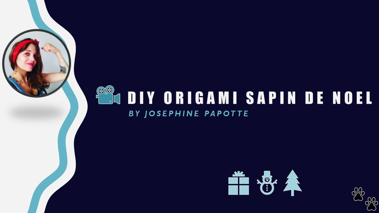 origami sapin de no l youtube. Black Bedroom Furniture Sets. Home Design Ideas