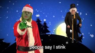 Repeat youtube video Scrooge vs The Grinch. Epic Rap Battles of Christmas