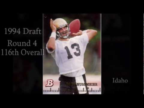 Saints QB Draft History