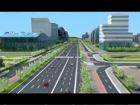 Super Corridor Indore 3D walkthrough