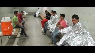 Illegal Alien Child Detention Center in Texas