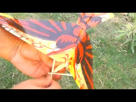 Ornithopter kits | Ornithopter Bird with paper | DIY rubber band flying bird origami paper bird