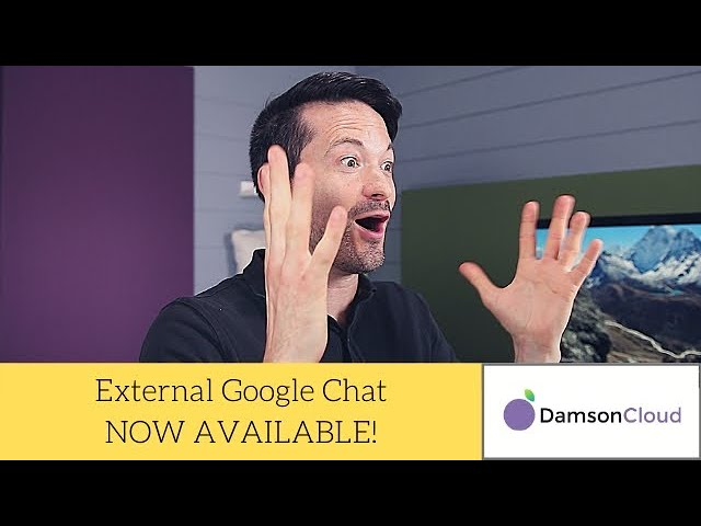 External Google Chat Now Available - Google Chat - G Suite Updates