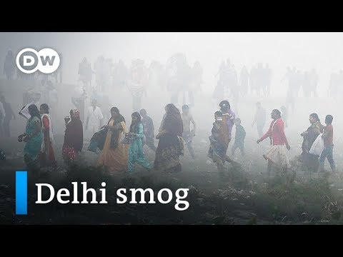 India's capital Delhi chokes under 'hazardous' smog blanket | DW News