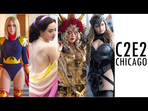 THIS IS C2E2 CHICAGO COMIC CON 2020 BEST COSPLAY MUSIC VIDEO ANIME FUN CMV BEST COSTUMES COMPILATION
