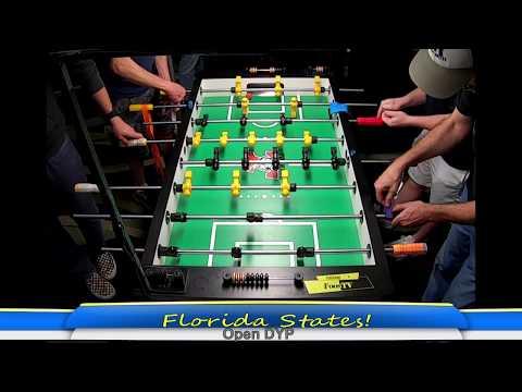 Florida State Foosball 2020 LIVE! Table 1