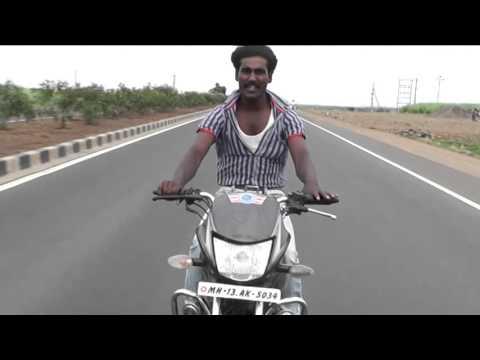 bike stunt man khandu kapure solapur .....