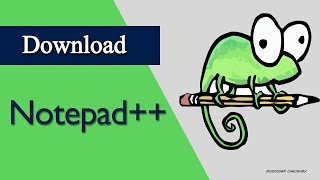 Gambar cover Notepad++ | How to download notepad++  in window 10