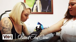 Every Time Kat Did A Tattoo | Black Ink Crew: Chicago