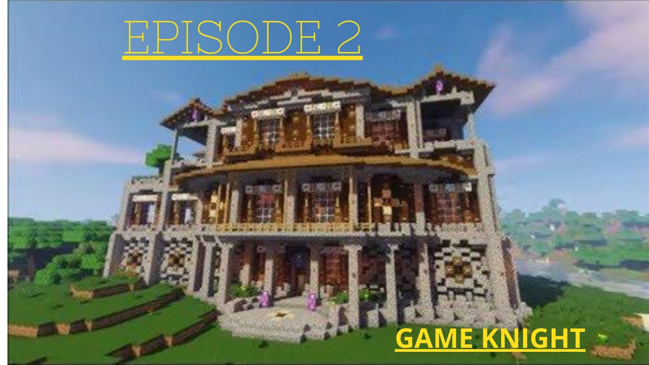 Dallasmed65 World Download 300 Minecraft Survival Mansion Tour