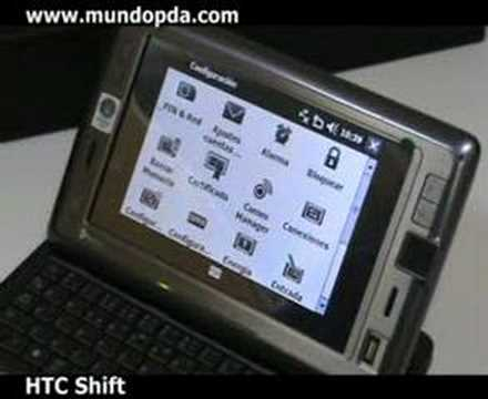 HTC Shift X9500 - Mini Review - MundoPDA