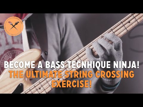 become a bass technique ninja the ultimate string crossing exercise l 133 youtube. Black Bedroom Furniture Sets. Home Design Ideas