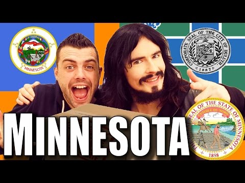 Irish People Taste Test 'MINNESOTA' - Food / Snacks  - USA UnBoxing!!