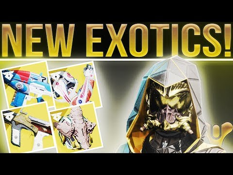 Destiny 2 Warmind. NEW EXOTICS!! (PSN Exclusive Armor/Strike, NPC's, New Loot, Nokris & More!)