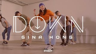 Gina Hong Choreography | Down - Tiffany Gouché Dance | STEEZY.CO (Intermediate Class)