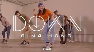 Gina Hong Choreography | Down - Tiffany Gouché Dance | STEEZY.CO (Intermediate Class)
