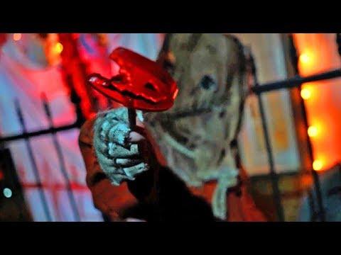 Trick r Treat scare zone at Halloween Horror Nights 2017, Universal Orlando