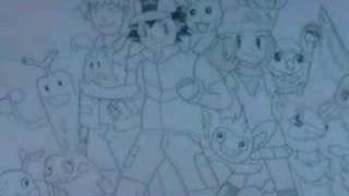 my pokemon drawings battle frontier song