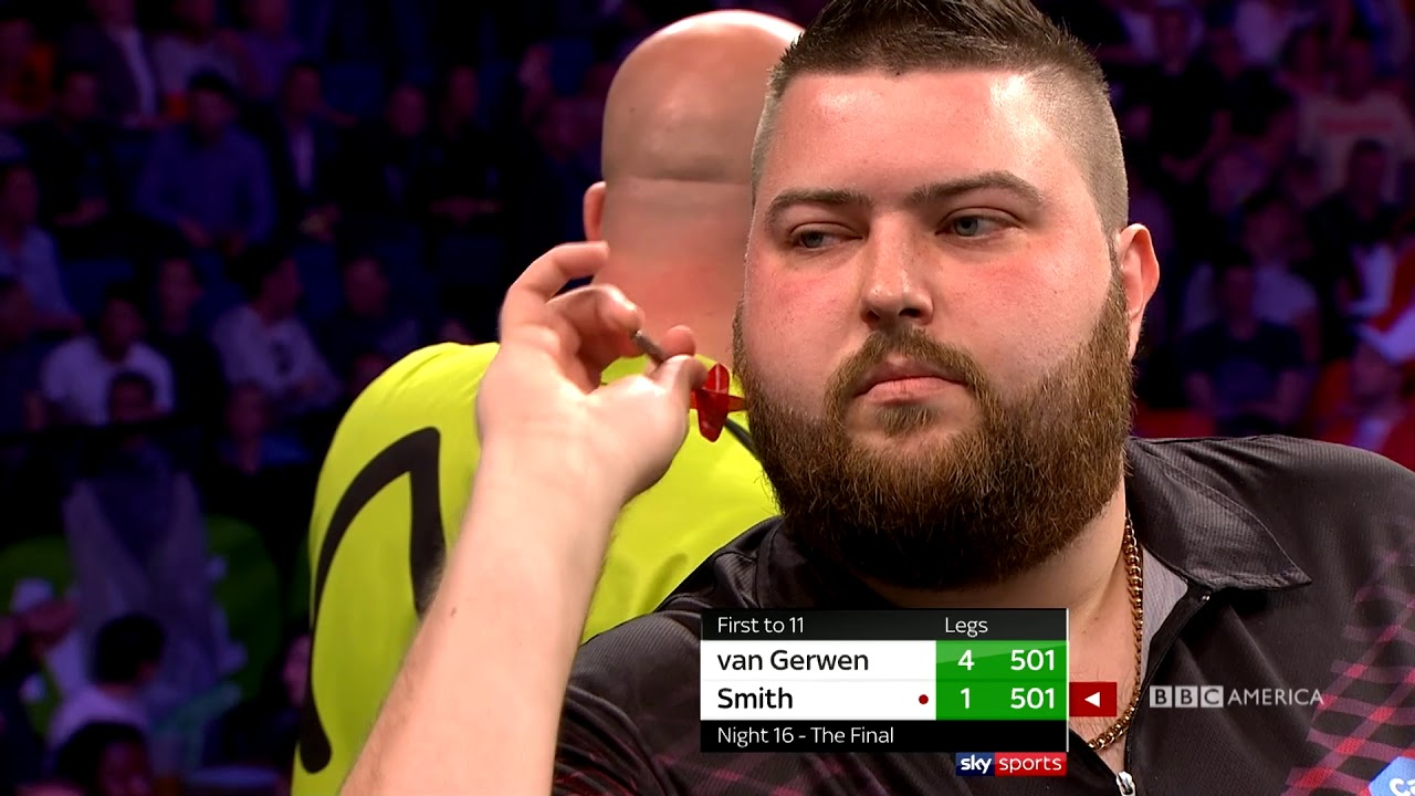LONDON M. Van Gerwen v M. Smith: Full Match | Thursday Night Darts | 10/9c on BBC America