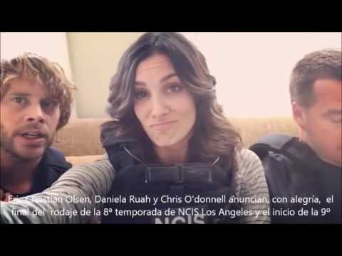 Daniela Ruah, Chris O'donell y Eric Christian Olsen, NCIS Los Angeles 9ªTemporada