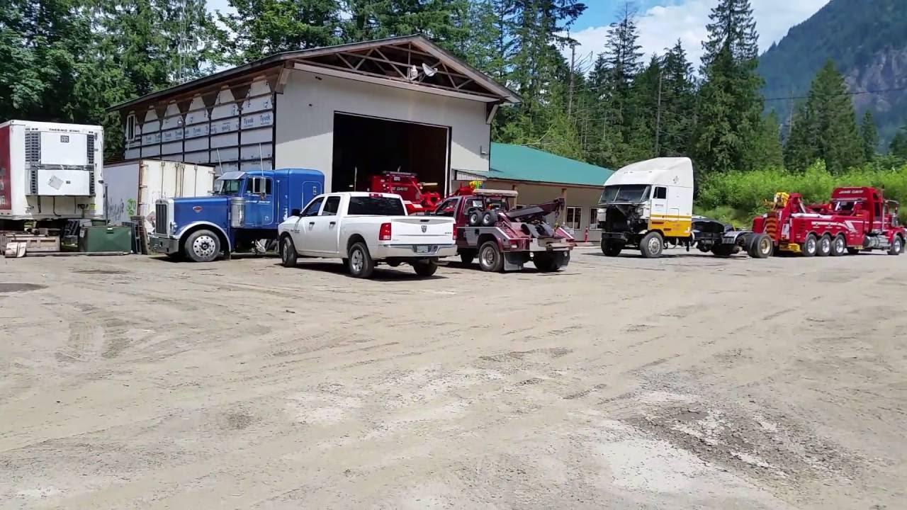 Highway Thru Hell Jamie Davis Motor Towning In Hope Bc