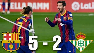 Barcelona vs Real Betis [5-2], <b>La Liga</b> 2020/21 - MATCH REVIEW ...