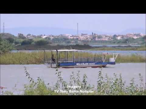 Balseiros e barqueiros reclamam de movimento na travessia do rio São Francisco.