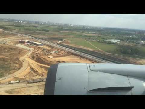 Landing in Moscow Boeing 767