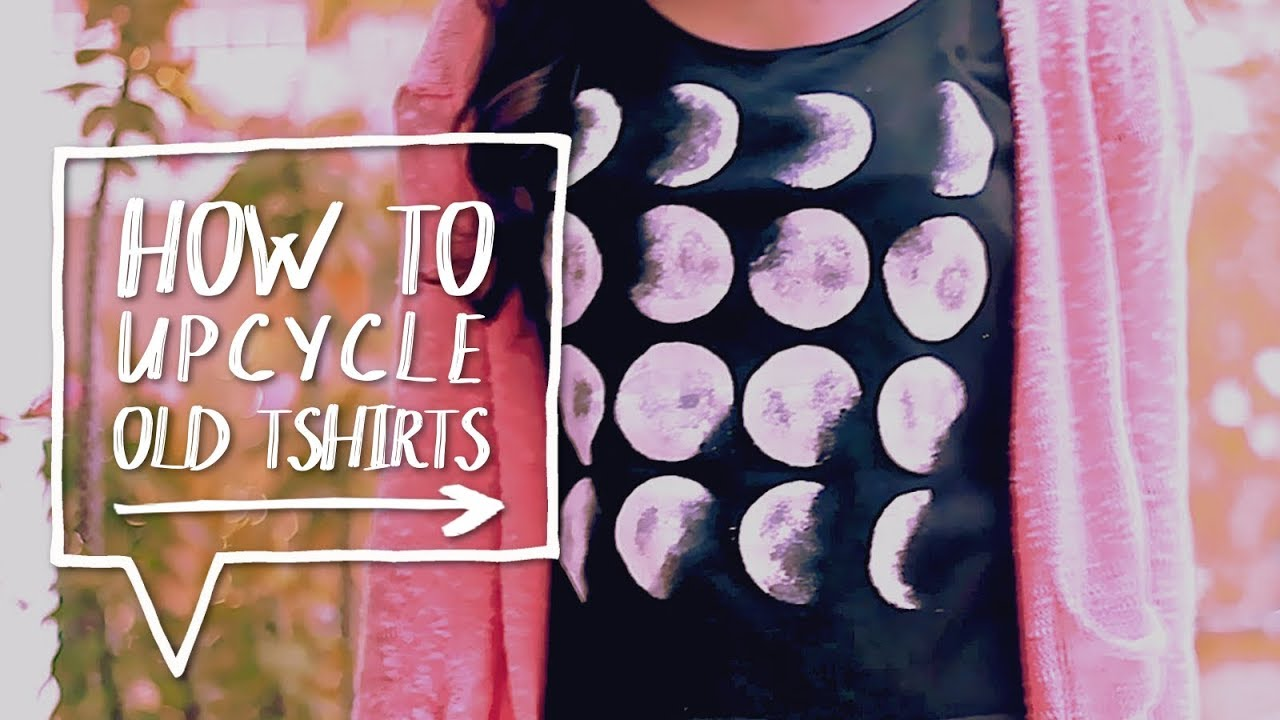 Diy brandy melville inspired shirt youtube -  Diy Graphic Tee How To Make A Diy Moon Phase Graphic T Shirt Tutorial Alejandra S Styles