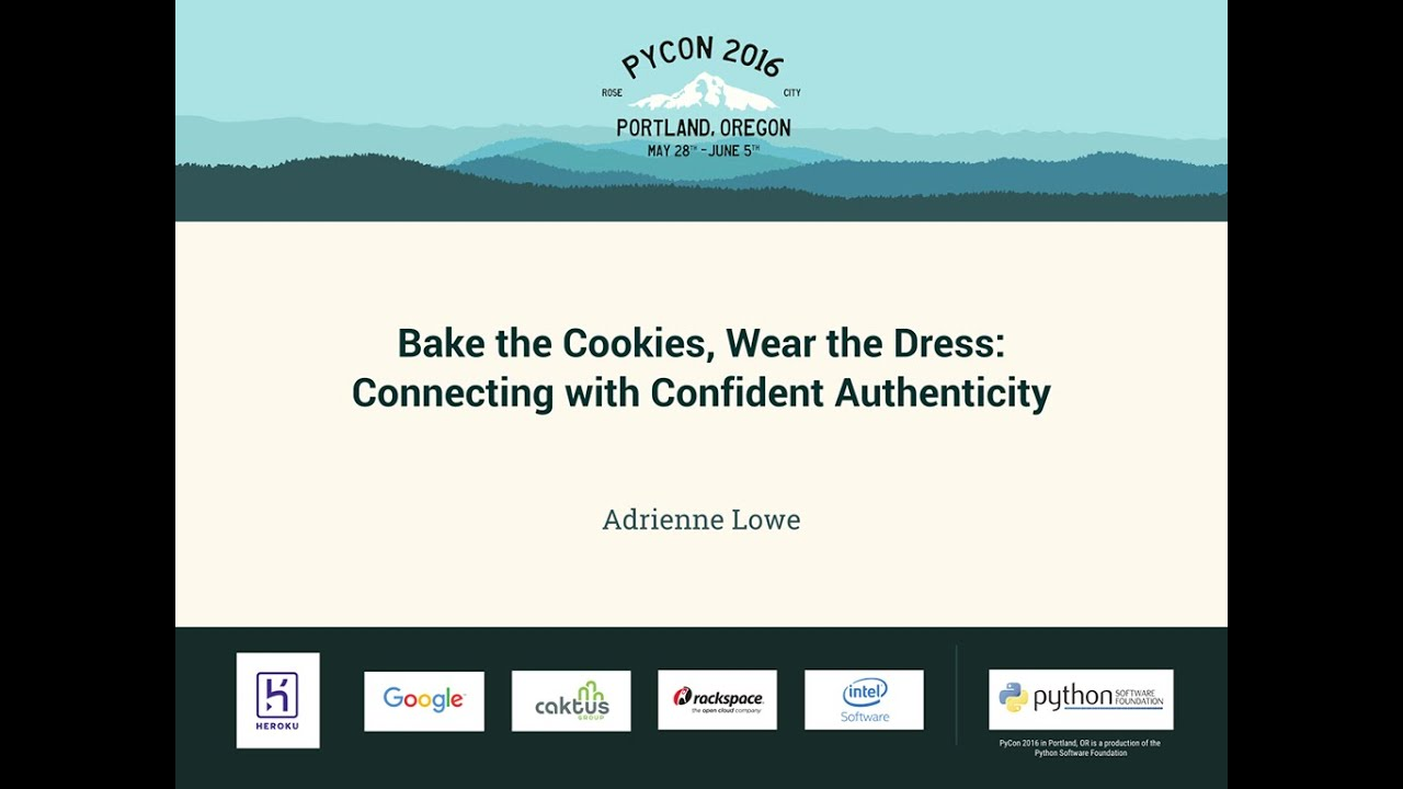 Image from Bake the Cookies, Wear the Dress: Connecting with Confident Authenticity