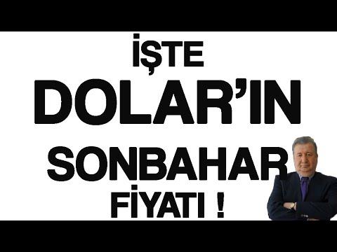 İŞTE  DOLAR'IN  SONBAHAR FİYATI