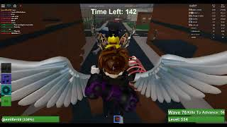 getting to lvl 557 (Roblox zombie Rush)