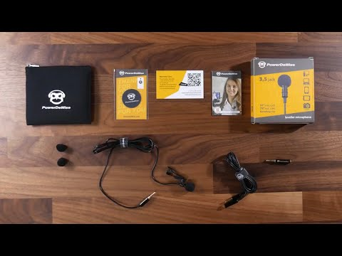 The NEWEST GREATEST $20 Lav Mic Kit? [PowerDeWise Lav Microphone Review]