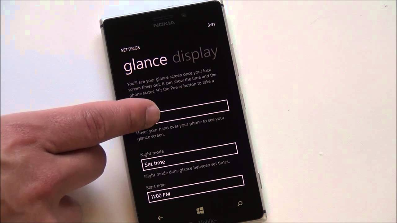 Lumia 521 denim update - Nokia Glance Screen How To For Lumia Windows Phones And The Lumia 925 Youtube
