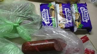 Влог//Покупки продуктов в Сильпо//Скумбрия запеченная в духовке с луком и лимоном//Меню на день