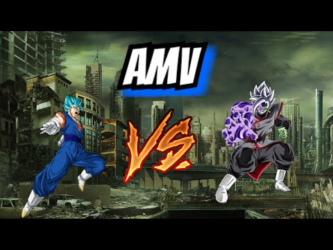 Amv dbs vegeto vs zamasu gatai crée par dark Production post malone rockstar ft  savage