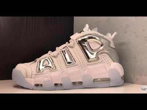 new styles 904df 864a5 NIKE AIR UPTEMPO MORE CHROME SNEAKER REVIEW