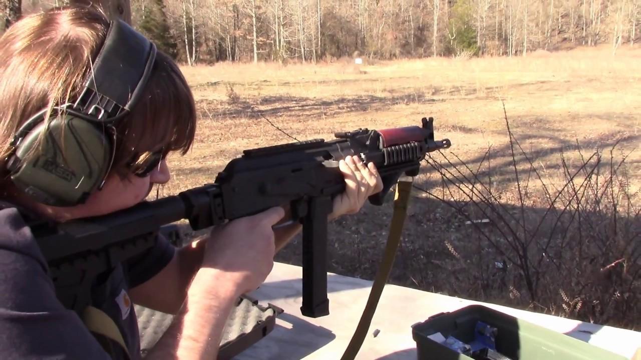 Romanian Nova NAK-9 9mm AK Pistol Review + USMG Folding Brace