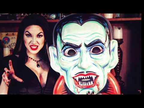 Ghoulsville Retro Halloween Wall Decor Masks Series 1 & 2