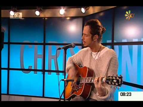 Chris Cornell - Scream Live Acoustic on a Denmark TV Show  3-5-09