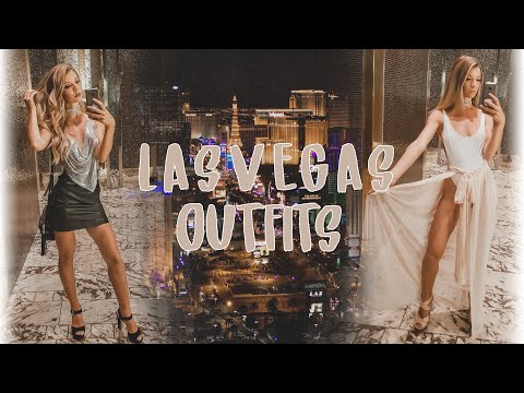 Las Vegas Outfits lookbook Vlog