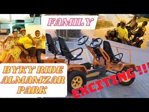 FAMILY BYKY RIDE TOUR OF AL MAMZAR BEACH PARK DUBAI